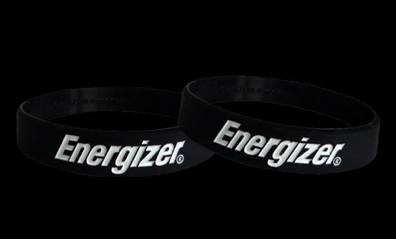 silicone bracelets Energizer