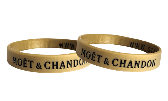 MOET silicone wristbands
