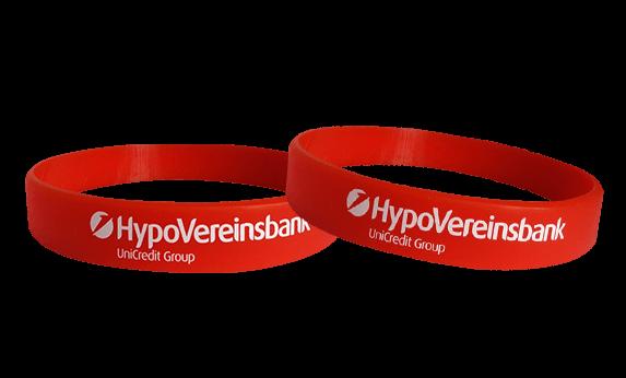Hypo silicone bracelets printing