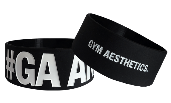 silicone wristbands for gym