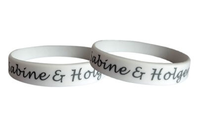 bracelets for weddings made of silicone