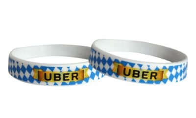silicone bracelets as vip wristbands