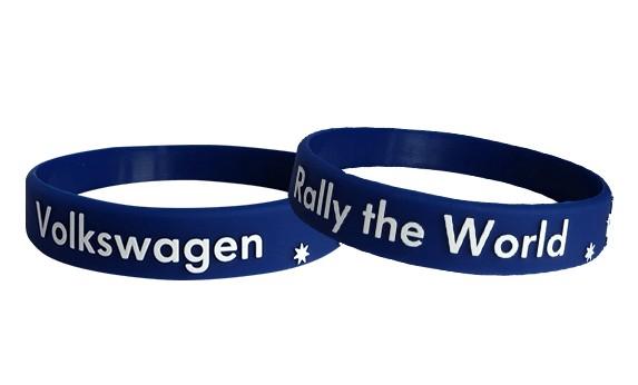 silicone bracelets embossed logo
