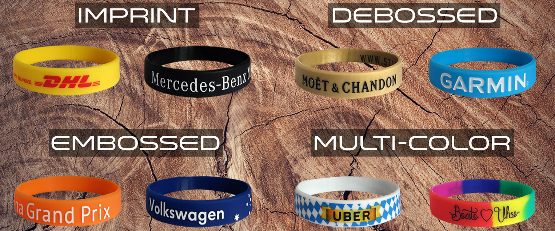 silicone bracelets personalized