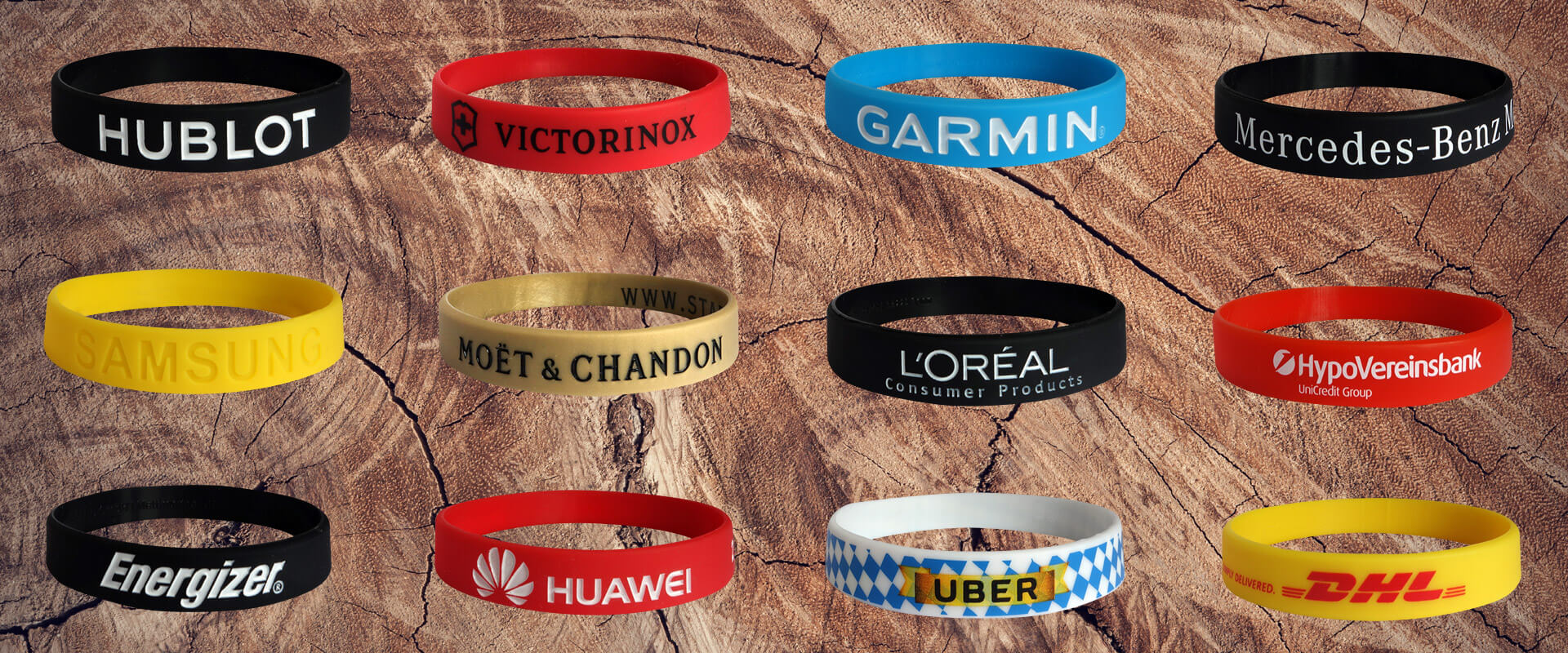 silicone wristbands order
